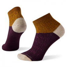Women's Everyday Cable Ankle Boot Socks