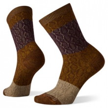 Women's Everyday Color Block Cable Crew Socks by Smartwool