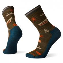 Everyday Park Explorer Pattern Crew Socks by Smartwool
