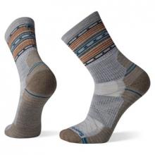 Hike Light Cushion Spiked Stripe Crew Socks by Smartwool in Alamosa CO
