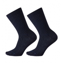 Women's Everyday Cable Crew 2 Pack Socks by Smartwool