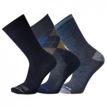 Everyday Blue Crew Socks Trio Socks