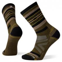Hike Full Cushion Rail Stripe Crew Socks by Smartwool