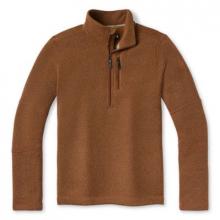 Men's Hudson Trail Fleece Half Zip Sweater by Smartwool