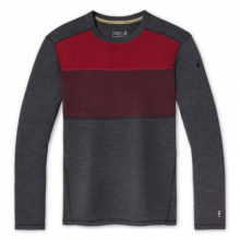 Men's Merino 250 Baselayer Colorblock Crew Boxed by Smartwool