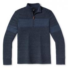 Men's Ripple Ridge Stripe Half Zip Sweater by Smartwool