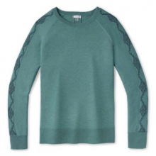 Women's Shadow Pine Needlepoint Crew Sweater by Smartwool