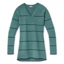 Women's Shadow Pine Pointelle Stripe Tunic Sweater by Smartwool