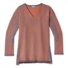 Women's Shadow Pine V-Neck Rib Sweater