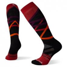 Women's Ski Full Cushion Trellis Pattern OTC Socks