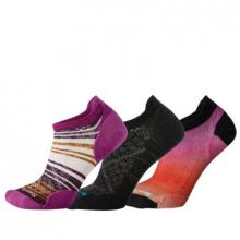 Women's Run Stripe Ombre Trio Socks