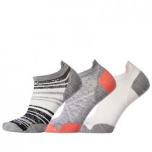 Women's Run Stripe Trio Socks