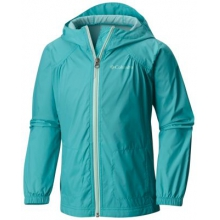 Toddler Girl's Switchback Rain Jacket by Columbia in Cold Lake Ab