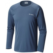 Men's Blood And Guts III Long Sleeve Knit Shirt by Columbia