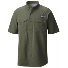 Men's Blood And Guts III Short Sleeve Woven by Columbia