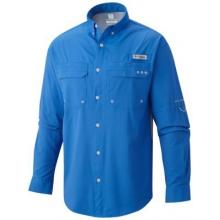 Men's Cast Away Zero Woven Long Sleeve Shirt by Columbia