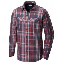Men's Silver Ridge Plaid Long Sleeve Shirt by Columbia in Surrey Bc