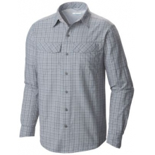 Men's Silver Ridge Plaid Long Sleeve Shirt by Columbia in Iowa City Ia