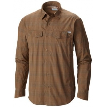 Men's Silver Ridge Plaid Long Sleeve Shirt by Columbia in Lafayette La