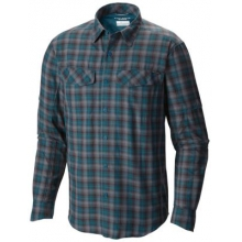 Men's Extended Silver Ridge Plaid Long Sleeve Shirt by Columbia