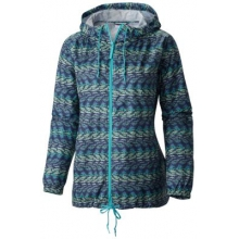 Women's Flash Forward Printed Windbreaker by Columbia