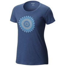 Women's Prism Medallion Short Sleeve Tee by Columbia in Ponderay Id