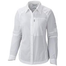 Women's Silver Ridge Long Sleeve Shirt by Columbia in Ponderay Id