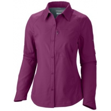 Women's Extended Silver Ridge Long Sleeve Shirt by Columbia