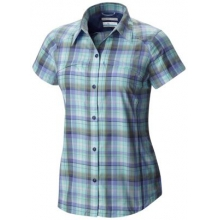Women's Silver Ridge Multi Plaid Short Sleeve Shirt by Columbia