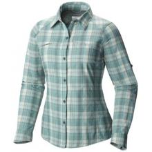 Women's Silver Ridge Plaid Long Sleeve Shirt by Columbia