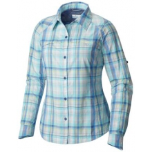 Women's Silver Ridge Plaid Long Sleeve Shirt by Columbia in Havre Mt