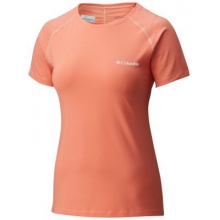 Women's Trail Flash Short Sleeve Shirt by Columbia