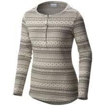Women's Aspen Lodge Jacquard Henley Long Sleeve Shirt by Columbia
