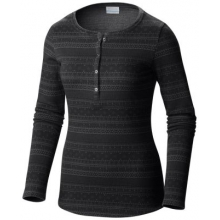 Women's Aspen Lodge Jacquard Henley Long Sleeve Shirt by Columbia