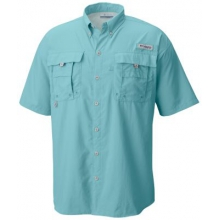 Men's Bahama II Short Sleeve Shirt by Columbia in Iowa City Ia