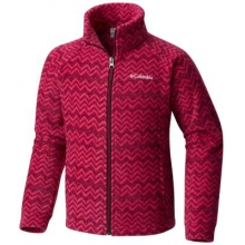 Girl's Benton Springs II Printed Fleece by Columbia in Corte Madera Ca