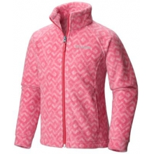 Girl's Benton Springs II Printed Fleece Jacket - Toddler by Columbia