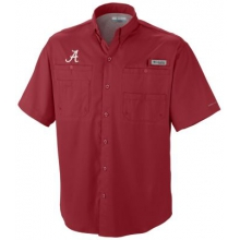 Collegiate Bonehead Short Sleeve Shirt by Columbia in Miami Fl