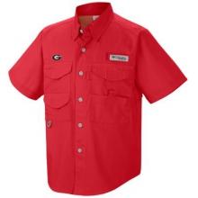Collegiate Bonehead Short Sleeve Shirt by Columbia in Red Deer Ab
