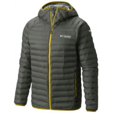 Men's Compactor Down Hooded Jacket by Columbia