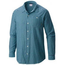 Men's Cornell Woods Flannel Long Sleeve Shirt by Columbia in Courtenay Bc