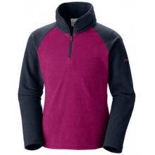 Youth Girl's Glacial Fleece Half Zip by Columbia