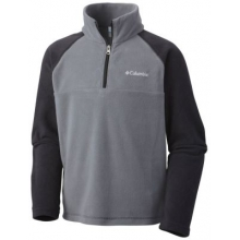 Youth Boy's Glacial Half Zip by Columbia in Havre Mt