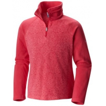 Girl's Glacial II Fleece Print Half Zip by Columbia in Burbank Ca
