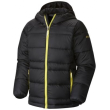 Boy's Gold 550 Turbodown Hooded Down Jacket by Columbia