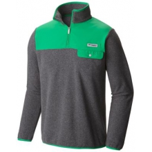Men's Harborside Overlay Fleece Pullover by Columbia