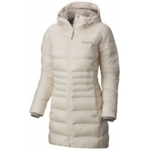 Women's Hellfire Mid Down Hooded Jacket by Columbia