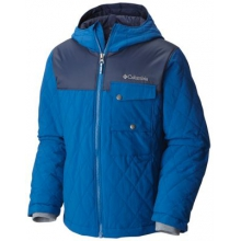 Boy's Lookout Cabin Insulated Hooded Jacket by Columbia