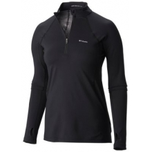 Women's Midweight Stretch Long Sleeve Half Zip by Columbia in Cold Lake Ab