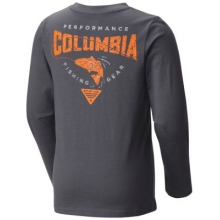 Boy's PFG Fish N' Hook Long Sleeve Shirt by Columbia
